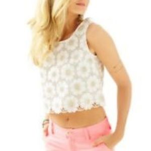 Lilly Pulitzer Crop Top, Size 6